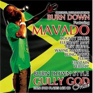 BURN DOWN / BURN DOWN STYLE--GULLY GOD MIX--(CD)