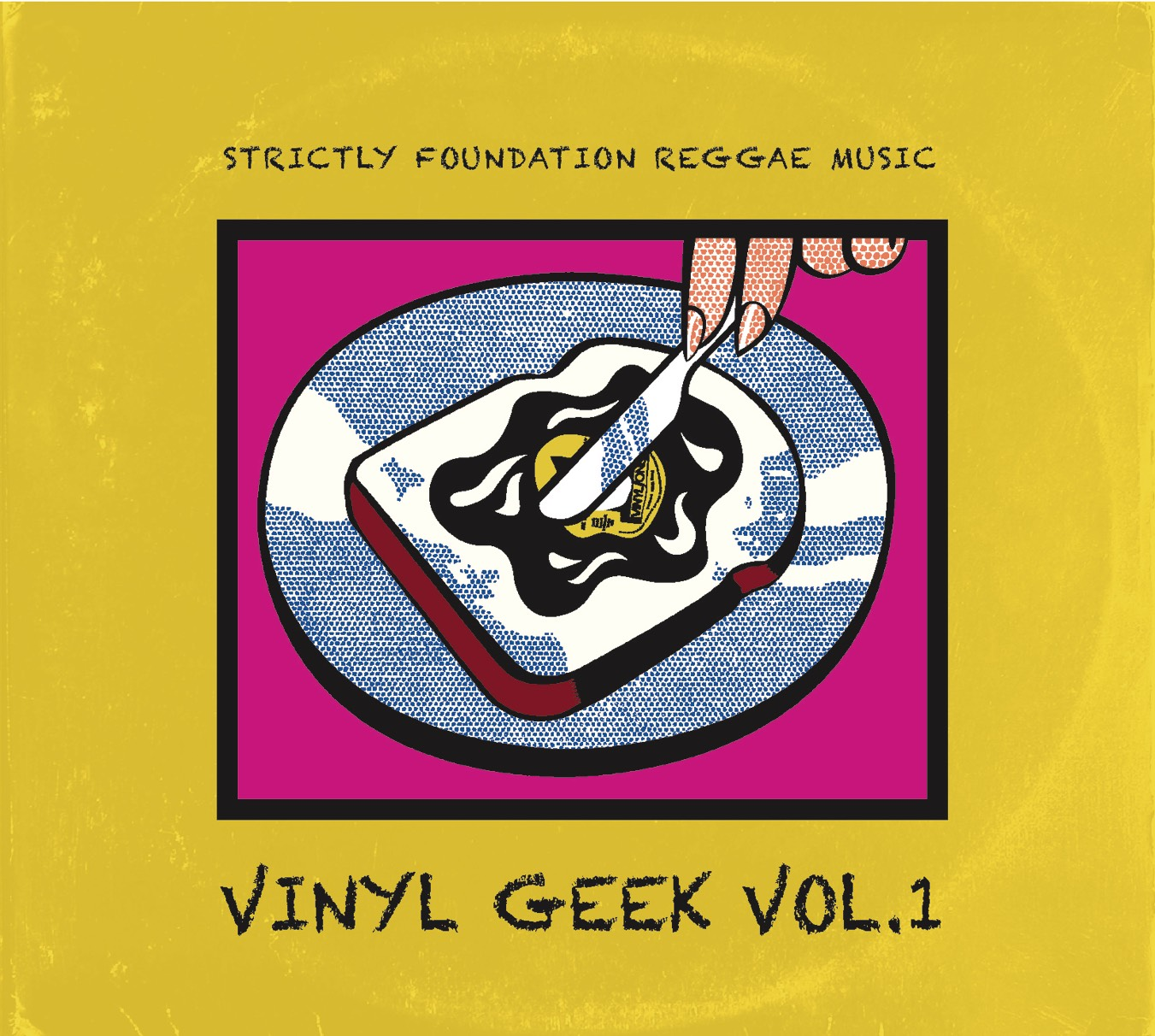 EMANUEL RECORDS (フランケン from Hot&Ice the Muzik/Out Of Babylons) / VINYL GEEK vol.1-strictly foundation reggae music-