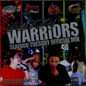 GREEN PEACE / PARTY WARRIORS -SEAFOOD TUESDAY OFFICIAL MIX-