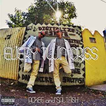 6月21日発売 ACKEE & SALTFISH / EVERY TWIN CRISS