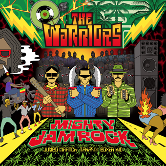 MIGHTY JAM ROCK (JUMBO MAATCH, TAKAFIN, BOXER KID) / THE WARRIORS