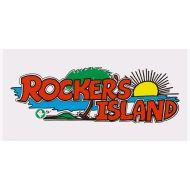 ROCKERS ISLNADロゴビーチタオル