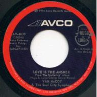 VAN McCOY / LOVE IS THE ANSWER / AVCO