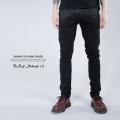 【Nudie Jeans/ヌーディージーンズ】SKINNY LIN SHINY BLACKスキニーデニムパンツ◆5156
