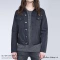 【Nudie Jeans/ヌーディージーンズ】BILLY DRY BLACK DENSE デニムジャケット◆5158