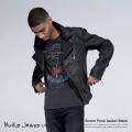 ������̵���ۡ�Nudie Jeans/�̡��ǥ���������Sixten Punk Jacket Black/�����ƥ��֥�å��ǥ˥�Х��������㥱�å�/���/�饤���������㥱�å�/�ǥ˥ॸ�㥱�å�/���ȥ�å�/160413��5159��S��������