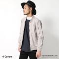 コットンポプリンMA-1ジャケット◆5431