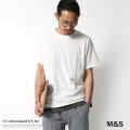 ��M&S/���ॢ��ɥ�����T/C���JQD�����˥å���Ⱦµ���롼�ͥå�T�����/���/���㥬����/����������/M61-4110��5893