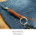 ��Nudie Jeans/�̡��ǥ��������󥺡�KNUTSSON KEY RING/���/�������/�����ۥ����/�쥶��/�ܳ�/43161-7055��5896