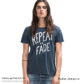 【Nudie Jeans/ヌーディージーンズ】O-NECK TEE【REPEAT TO FADE】◆5897