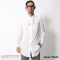 日本製/国産ロング丈リボンシャツ◆6098