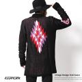 【EFFECTEN/エフェクテン】日本製/国産Ortega Knit Gown◆6179