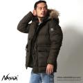 【KRIFF MAYER】×【NANGA】日本製ファー付きフードコートダウンジャケット1629903◆6213