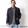 【SPELL BOUND/スペルバウンド】日本製/国産ストレッチデニムテーラードジャケット◆6367