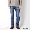 【kafika/カフィカ】日本製/国産USED加工ワンマイルジーンズ◆6519