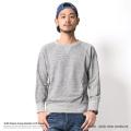 【Ranch.daily wear products】日本製/国産ラフィー裏毛ガゼットスウェット◆6608