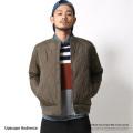 【Upscape Audience】日本製/国産ひょうたんキルトMA-1ジャケット◆6619