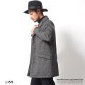 【LISS/リス】ウール混ダウンコート◆6726
