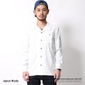 日本製/国産オープンカラーシャツ◆6767