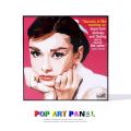 ポップアートパネル/Audrey Hepburn2 オードリー・ヘプバーン2◆6842
