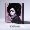 ポップアートパネル/Jimi Hendrixジミ・ヘンドリックス◆6865