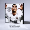 ポップアートパネル/Cristiano Ronaldo3 クリスティアーノ・ロナウド3◆6874