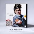 ポップアートパネル/Roger Federer ロジャー・フェデラー◆6881