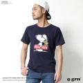 【grn/ジーアールエヌ】フロントプリントTシャツ◆7073