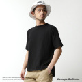 【Upscape Audience】日本製/国産吊り編みクルーネックビッグTシャツ◆7099