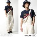 【APACHE/アパッシュ】国産/日本製ネップデニムオーバーオール◆7183