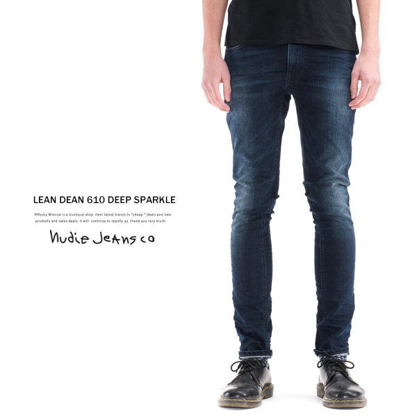 【Nudie Jeans/ヌーディージーンズ】LEAN DEAN61 10.75oz DEEP SPARKLE◆6294