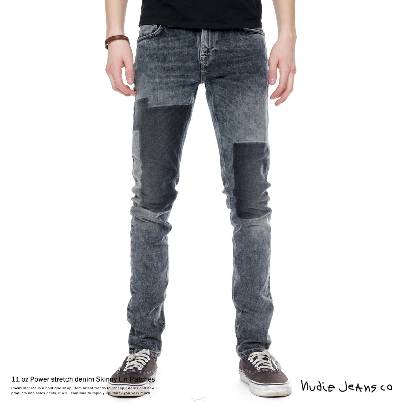【Nudie Jeans/ヌーディージーンズ】Skinny Lin Patches◆7557