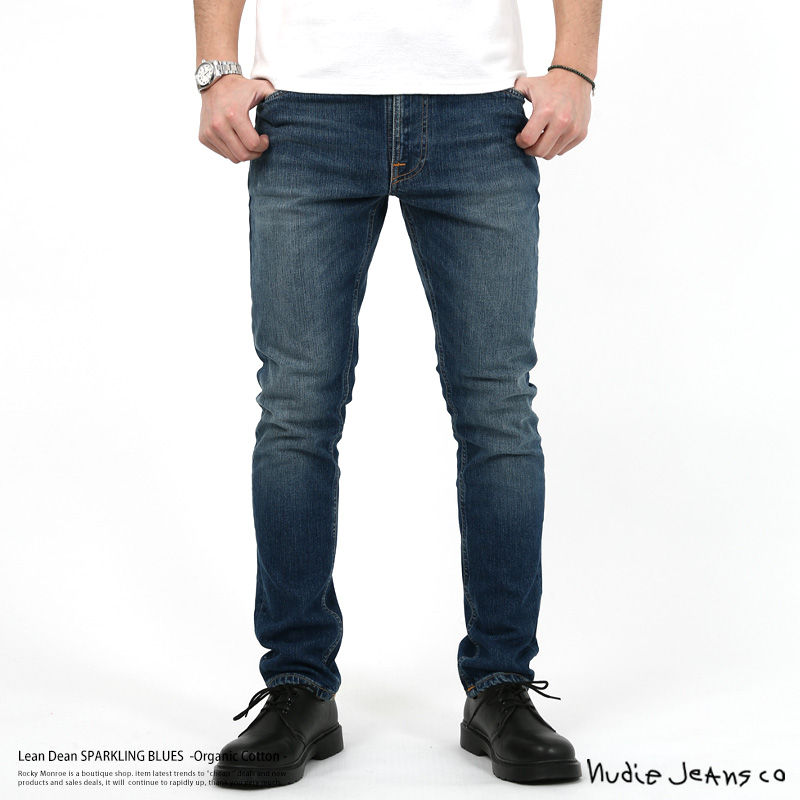 【Nudie Jeans/ヌーディージーンズ】Lean Dean SPARKLING BLUES◆7992
