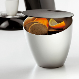 デンマークrostiのシンク用ゴミ箱カリプソ
