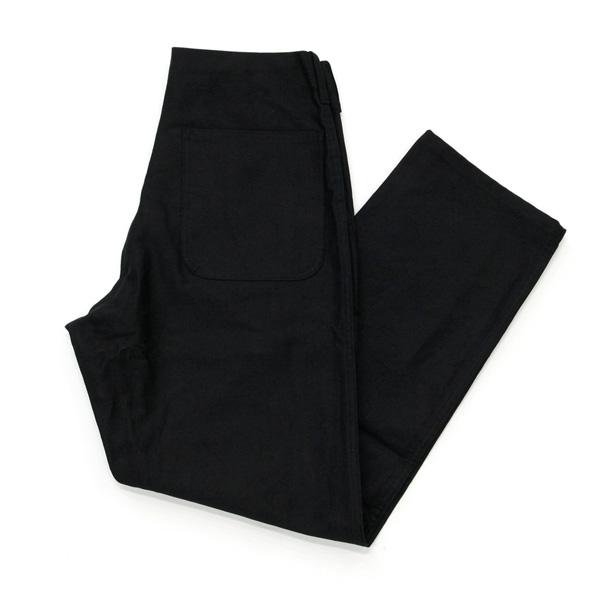 TUKI (ツキ) 0076 【WORK PANTS CORD CLOTH】 コードクロス ワークパンツ (BLACK)