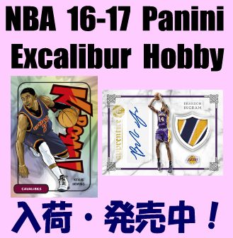 NBA 16-17 Panini Excalibur Hobby Basketball Box