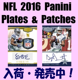 NFL 2016 Panini Plates & Platches Football Box