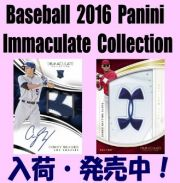 Baseball 2016 Panini Immaculate Collection Box