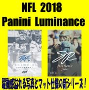 NFL 2018 Panini Luminance Football Box