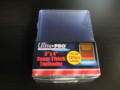 Ultra Pro Top Loader 120 P (3×4 Super Thick) 10枚入り