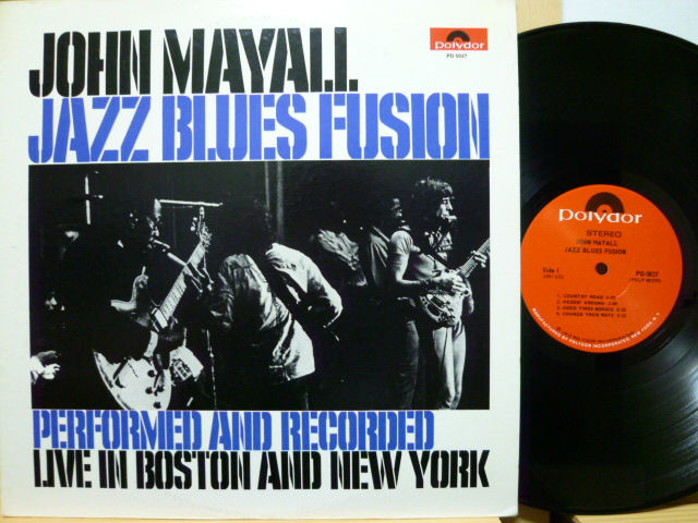 JOHN MAYALL ジョン・メイオール / Jazz Blues Fusion