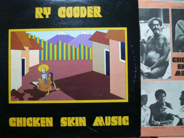 RY COODER ライ・クーダー / Chicken Skin Music