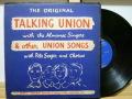 THE ALMANAC SINGERS オールマナック・シンガーズ / Talking Union