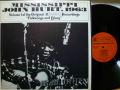 MISSISSIPPI JOHN HURT ミシシッピー・ジョン・ハート / Folksong and Blues
