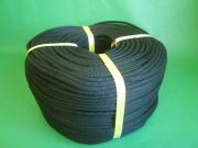 金剛打ちロープ(混紡糸) 黒色 直径6mm(300メートル巻き)
