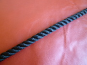ポリエステルマルチフィラメントロープ 黒色 直径20mm(切売り品)メートル単位 最大100メートル