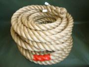 綱引きロープ 麻ロープ 直径36mm×30m