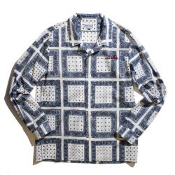 Bandanna Open collar shirt