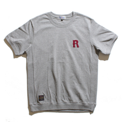 R Applique side panel s/s Tee