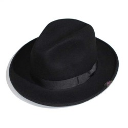 Middle Brim Felt HAT